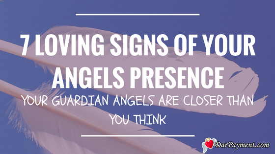 7 lovi7 signs of your angels presence