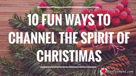 channel the spirit of christmas