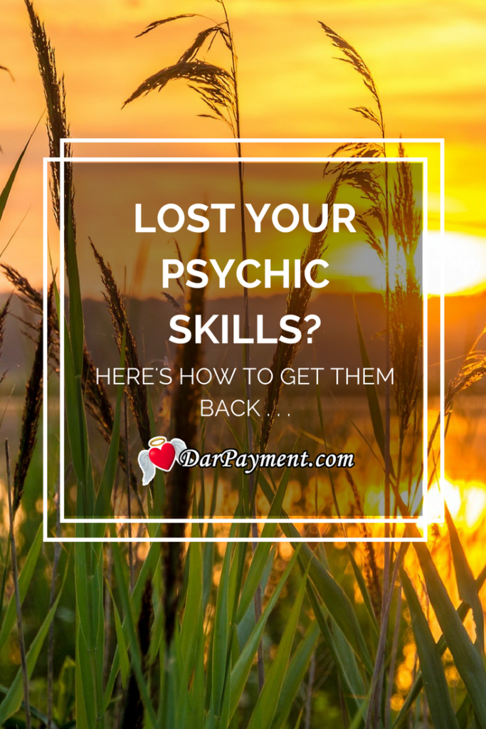 lost your psychic skills