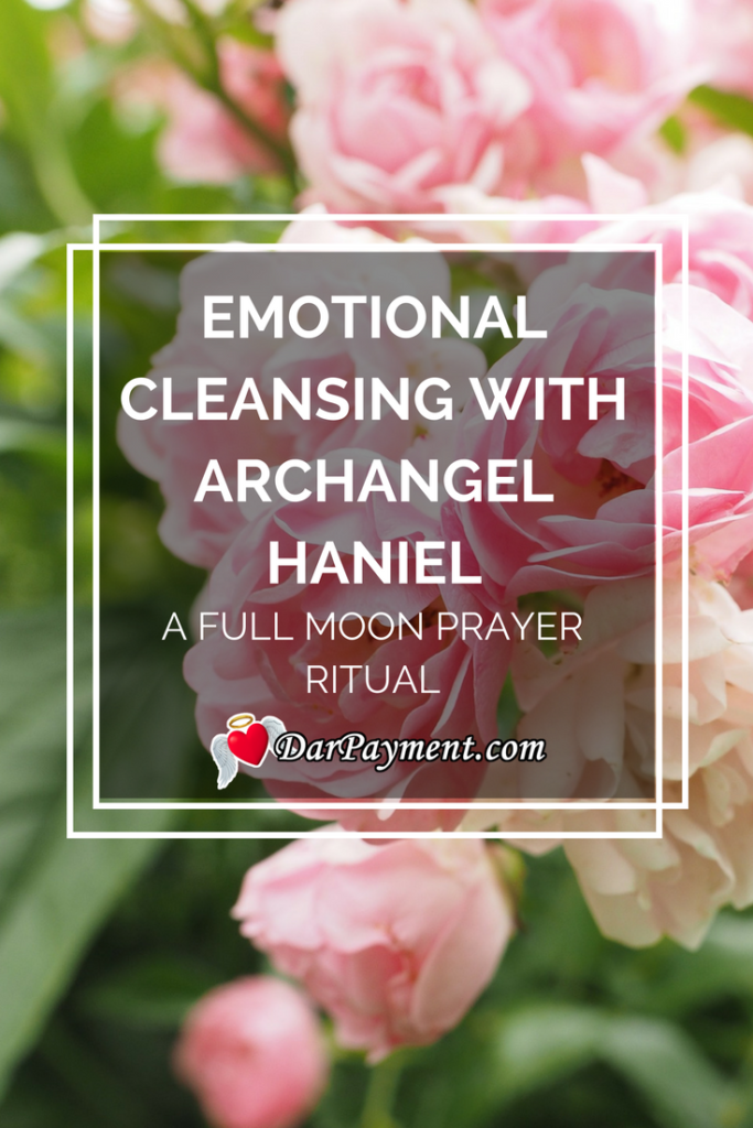 emotional cleansing with archangel haniel