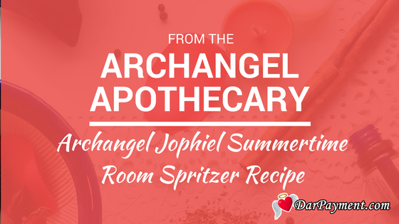 archangel jophiel summertime room spritzer recipe