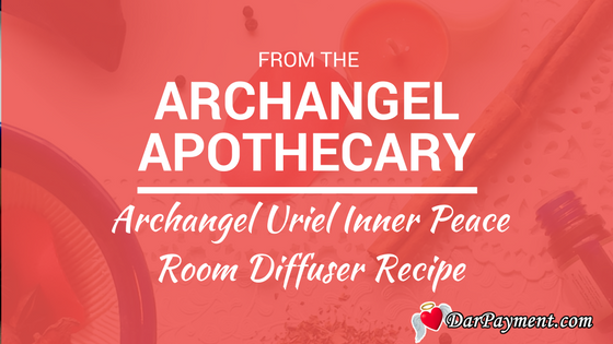 archangel uriel inner peace room diffuser blend