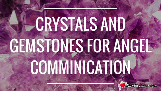 crystals and gemstones for angel communication