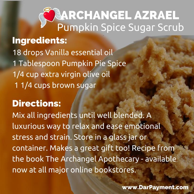 archangel azrael pumpkin spice sugar scrub recipe