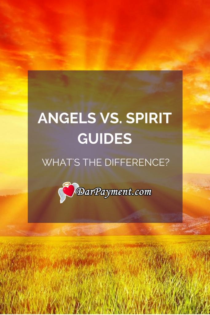 angels vs spirit guides