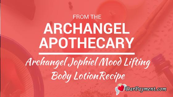 archangel jophiel mood lifting body lotion recipe